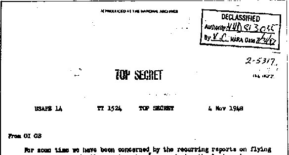 1948_Top_Secret_USAF_UFO_extraterrestrial_document-ftr
