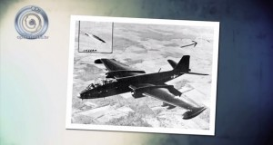 Famous UFO photo taken near Edwards Air Force Base in 1954 (Video)