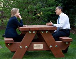 Hillary and Obama (Image Credit: White House (Pete Souza))