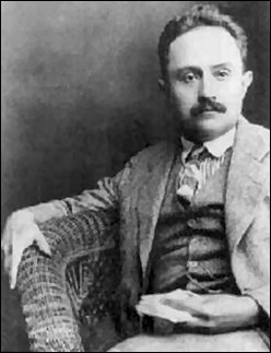 The Mexican philosopher José Vasconcelos in the 1920s