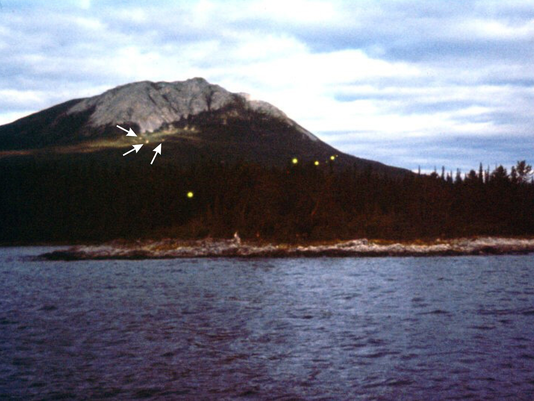 Earthquake lights. Image from the IAUAPR website, exemplifying the type of phenomenon that will be examined.