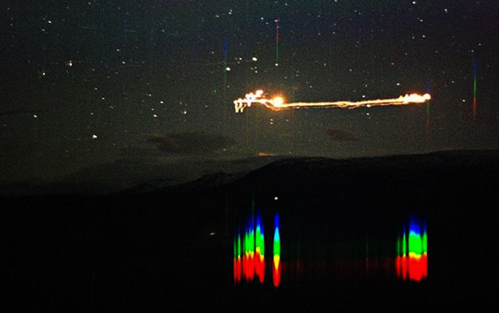 Hessdelen lights. Image from the IAUAPR website, exemplifying the type of phenomenon that will be examined.