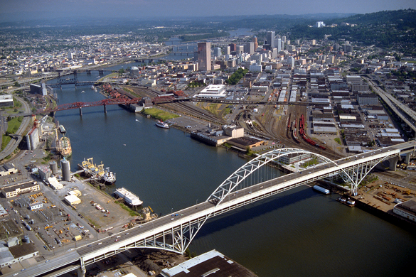 Portland, Oregon. (Credit: Bob Heims/U.S. Army Corps of Engineers)