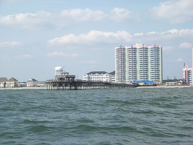 Cherry Grove beach. (Credit: Festiva76/Wikimedia Commons)