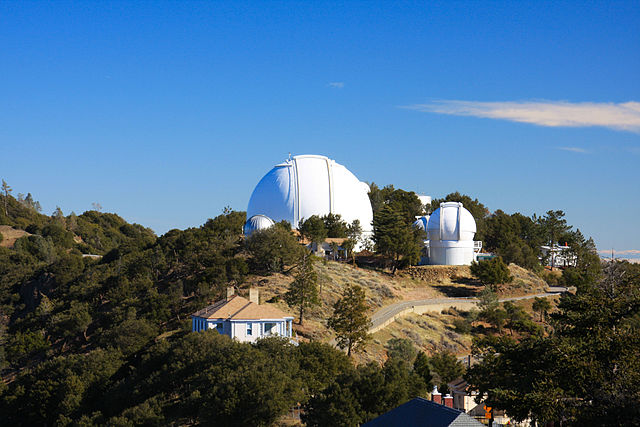 Lick Observatory. (Credit: Michael/Wikimedia Commons)
