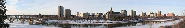 Saskatoon Skyline. (Credit: Tomtheman5/Wikimedia Commons)