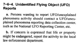 A section of the AIM document. (Credit: FAA)