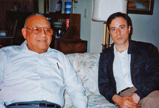 Col. Robert Friend with Antonio Huneeus (Author) in 1993.