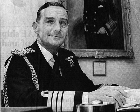 Admiral Lord Hill-Norton