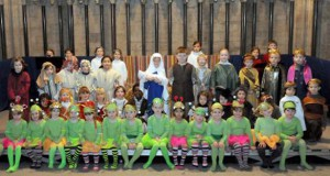 Aliens are central characters in UK school's Christmas nativity play
