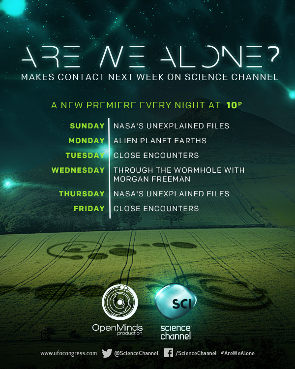 Are We Alone Schedule