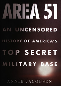 Area 51 book cover. (Credit: Little, Brown and Company)