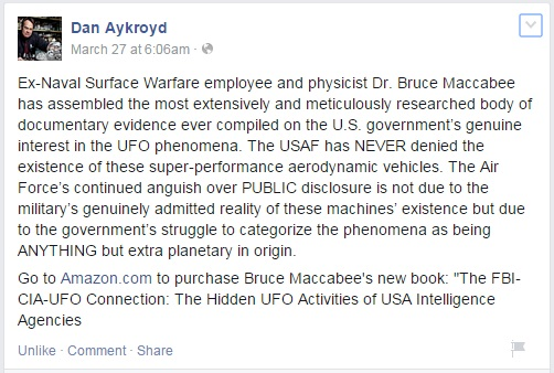 Aykroyd Maccabee FB