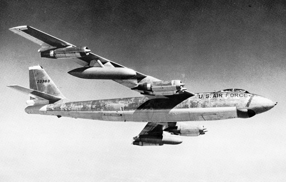 B-47 in flight