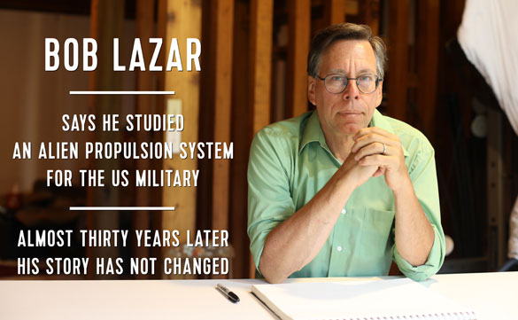 Bob Lazar Area 51 documentary narrated by Mickey Rourke | Openminds tv
