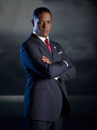 Blair underwood plays the President.