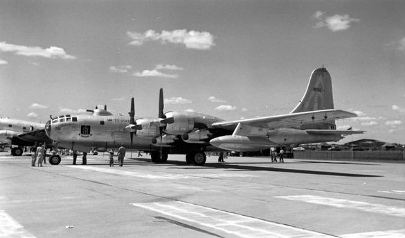 Boeing B-50D-95-BO (97th Bombardment Wing, early 1950s) (Credit: US Government/Wikimedia Commons)