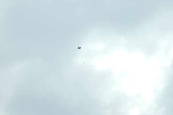 UFO over Bolton. (Credit: Nigel Finney/Mirror)