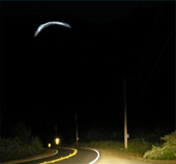 A picture of a boomerang UFO similar to what Gottlieb saw in Mexcio.
