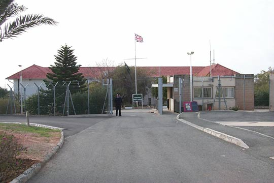 British Army Headquarters in Dhekelia, Cyprus (image credit: British Army)