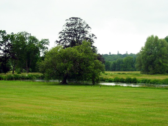 The grounds of the Broadlands Estate (image credit: www.broadlandsestates.co.uk)