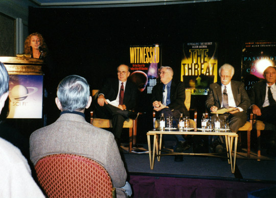 Budd Hopkins at Taken conference