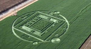 California crop circle turns out to be marketing stunt