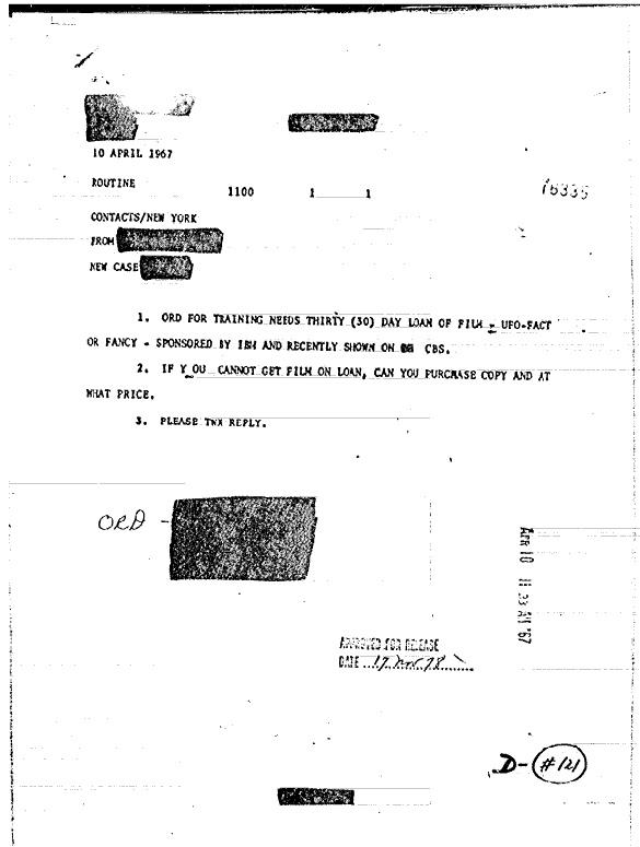 Document 0000015239 released by the CIA and then reclassified and pulled from the CIA FOIA electronic reading room.