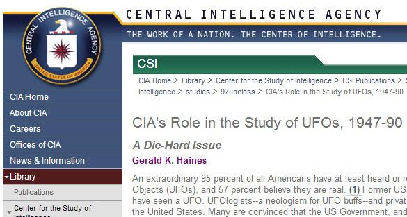 CIA-UFOs