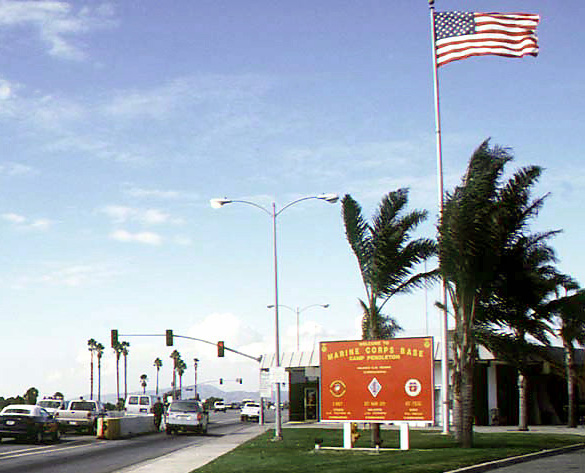 Camp Pendleton Front Gate.