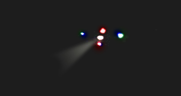 Photoshop image created by witness of the UFO. (Credit: MUFON)