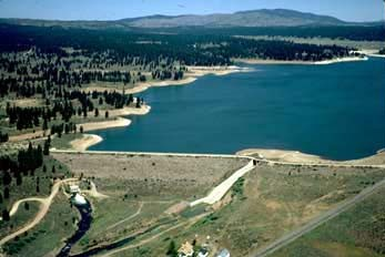 Boca Reservoir near Truckee. (Credit: Wikimedia Commons)