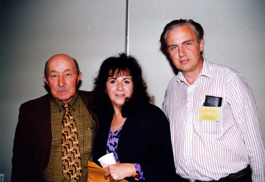 Three famous abductees at the Omega UFO Conference