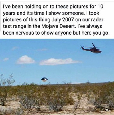 Alleged UFO photos over China Lake analyzed | Openminds tv