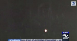 Several witnesses capture UFO videos in Colombia