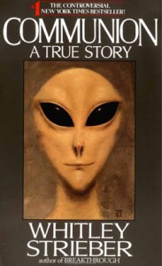 Cover to Whitley Strieber's book Communion.