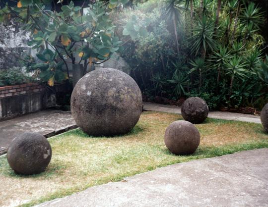 Costa Rica stone spheres. (image credit: Antonio Huneeus)