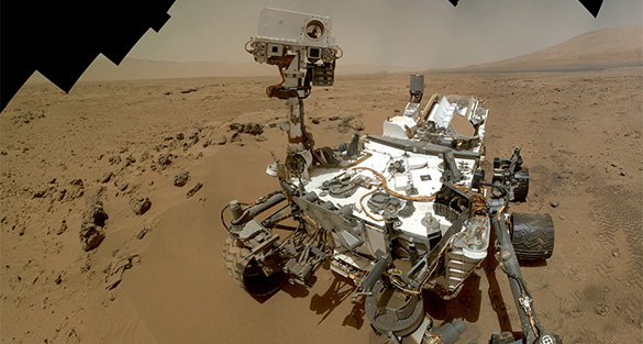 Curiosity rover discovers substantial water on Mars