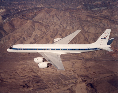 Figure 2: NASA DC-8-72 aircraft.