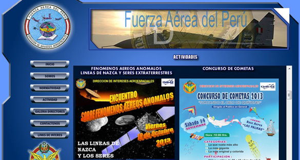 Antonio Huneeus – Peruvian Air Force UFO Department – October 22, 2013