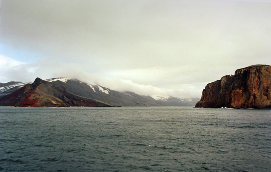View of Deception Island (image credit: Jerzy Strzelecki)