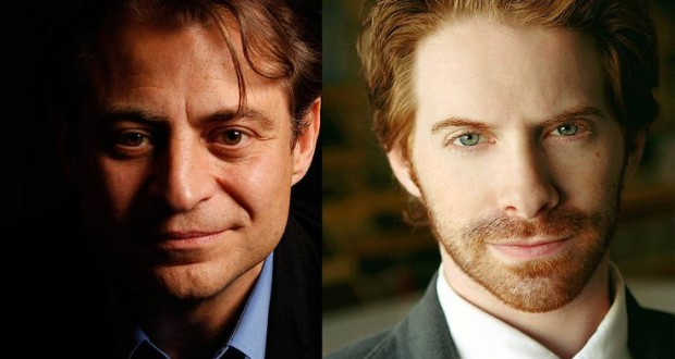 Peter Diamandis and Seth Green