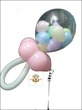 Dummy (pacifier) Balloon. (Credit: www.partyemporium.com.au)