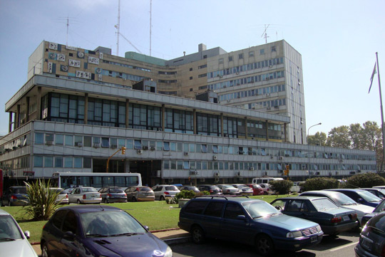 The Condor Building in Buenos Aires, headquarters of the Argentinean Air Force, where CIFA will function. (Image credit: Elsapucal/Wikimedia Commons)