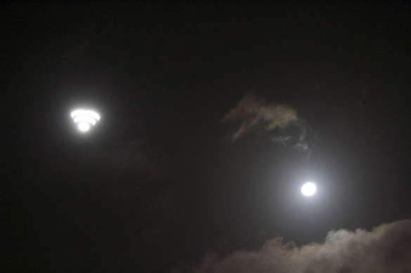 Energy Online UFO over Auckland. (Credit: Reseller News)