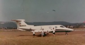 UFO over Flippin Airport in Arkansas on July 16, 1969 (Video)