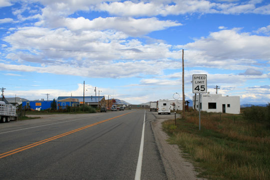 The small town of Hartsel, Colorado. (image credit: Andreas F. Borchert)