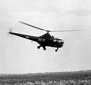 U.S. helicopter of the 1950s.