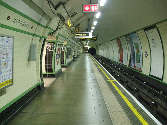 The Highgate Underground station. (Credit: Sunil060902/Wikimedia Commons)