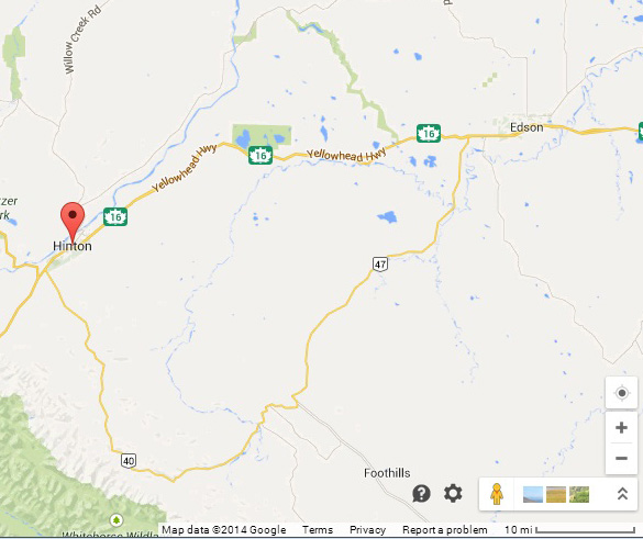 Hinton-Edson-Map